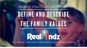 Family Values can be a cooperative process - and a great team builder