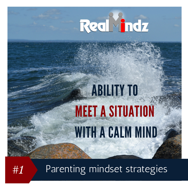 To handle my kids I must change me.